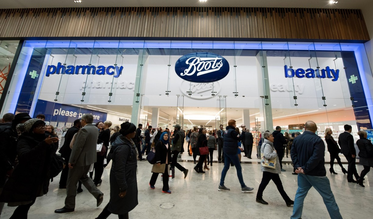 Intraday Services Mover: Walgreens Boots Alliance (WBA)