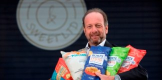 Burts Potato Chips snaps up Leicester's Savoury & Sweet