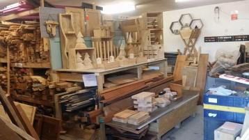 Our shop has a wide range of timber available