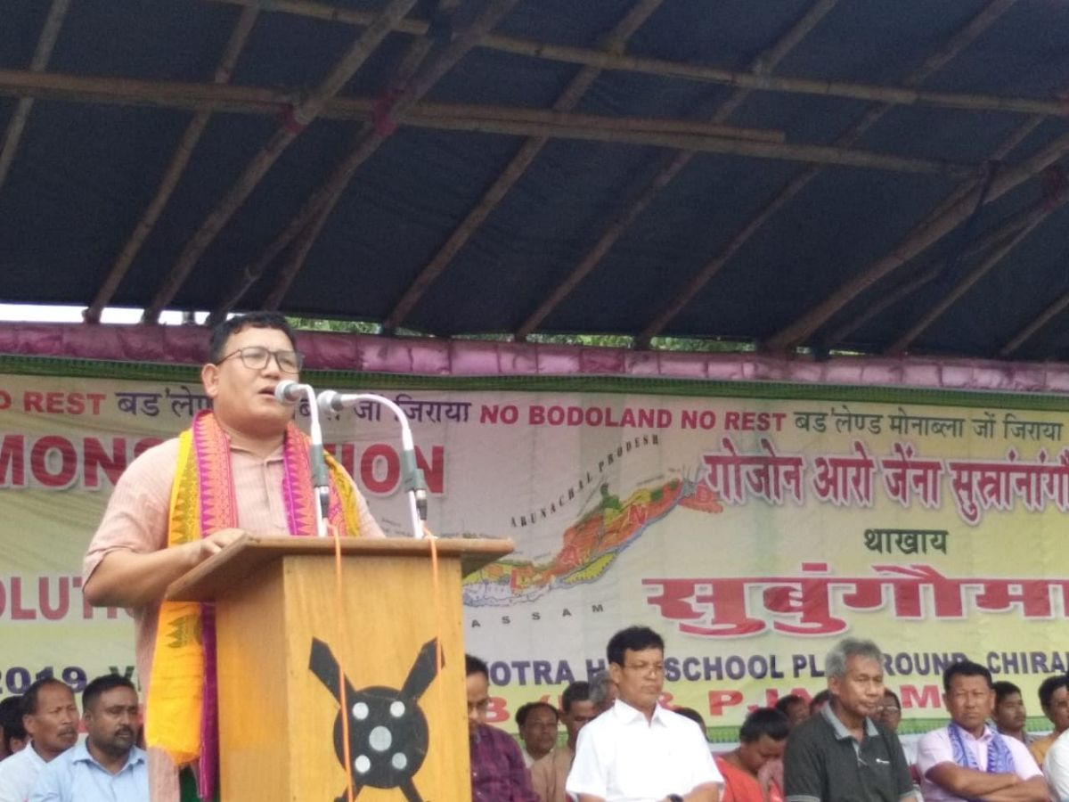 Assam: Plans for 10,000 Bodo youths to get job in army, paramilitary, police