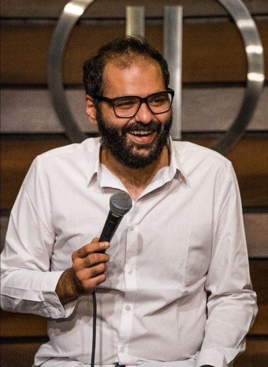 Standup comedian Kunal Kamra