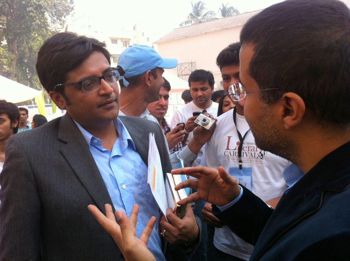 Mumbai Police names Arnab Goswami as accused in fake TRP case