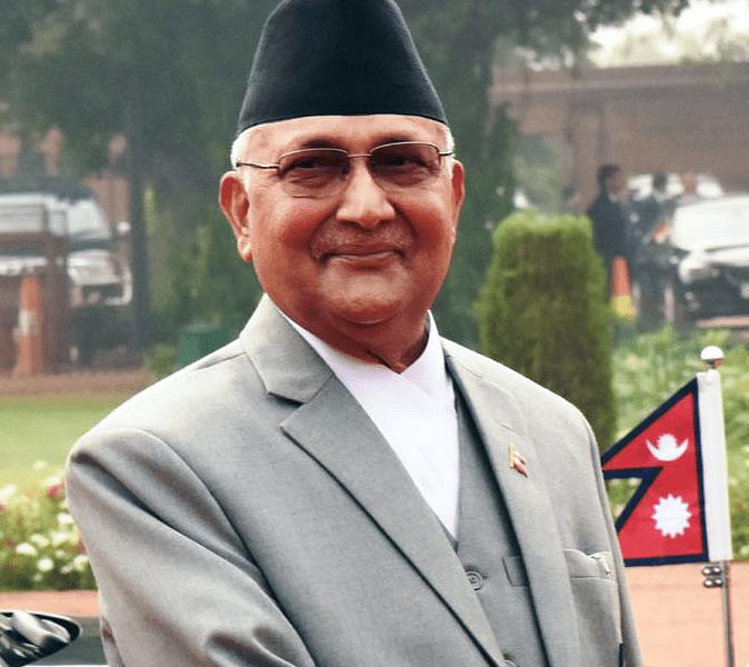 Nepal PM Oli challenges Prachanda