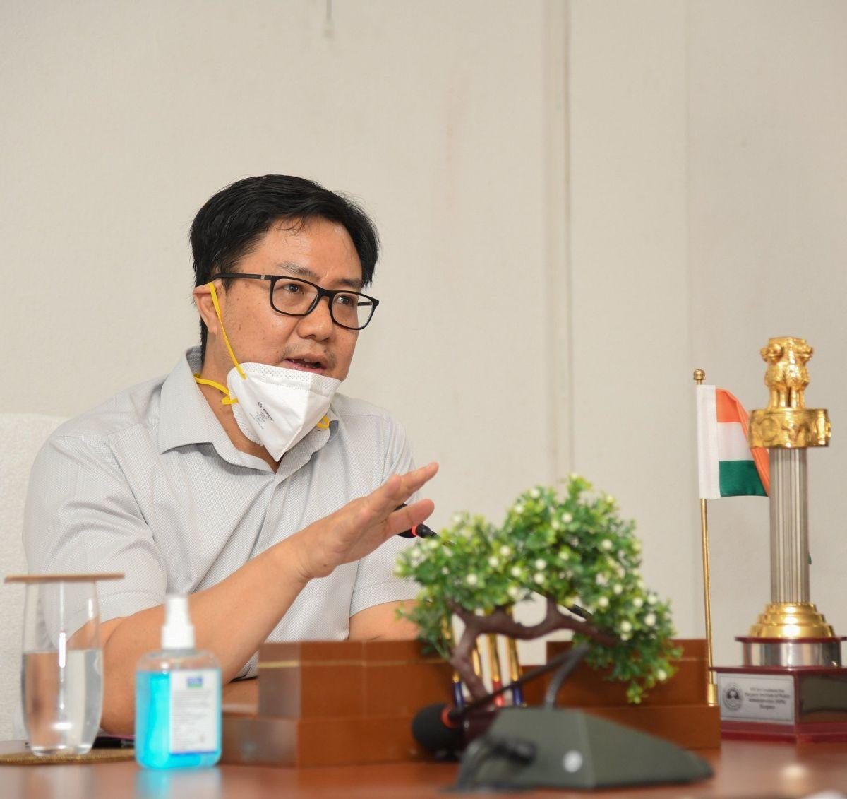 Minister of Youth Affairs and Sports Kiren Rijiju