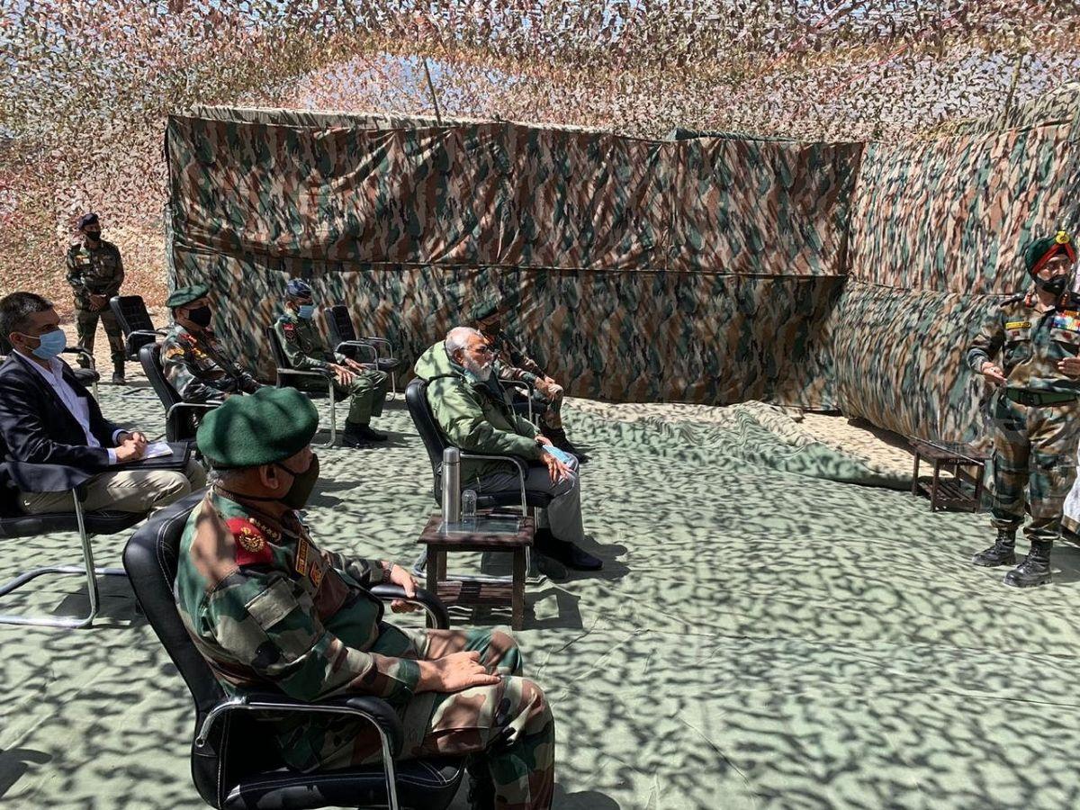 Ladakh Army China