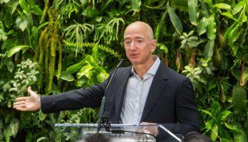 Jeff Bezos plans to go to space aboard Blue Origin flight in July