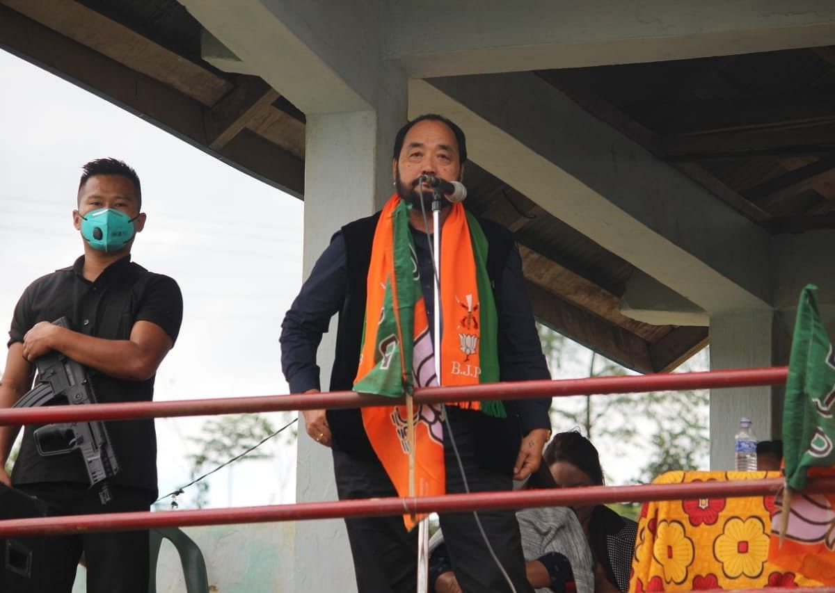 Nagaland govt committed to implement RIIN: Deputy CM Y Patton