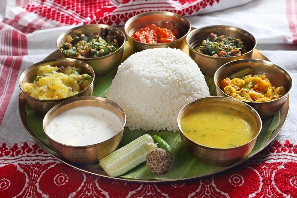 traditional assamese thalis restaurants in guwahati