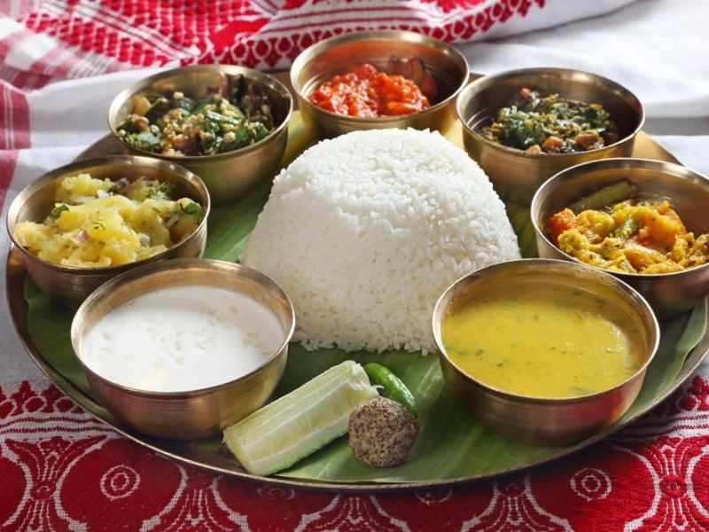 traditional assamese thalis restaurants in guwahati