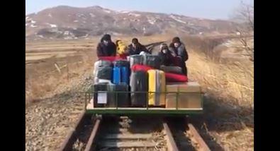 Russian diplomat North Korea trolley