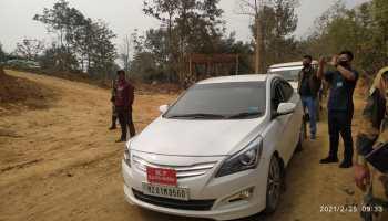 Mizoram MP Assam border