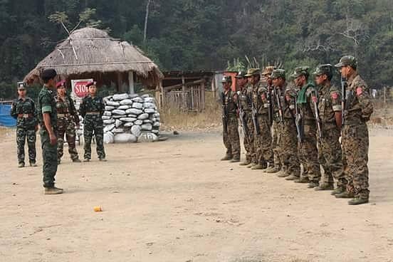 Myanmar's Chin National Army seeks asylum in Mizoram for family  members - EastMojo