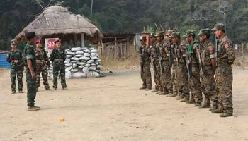 Myanmar's Chin National Army seeks asylum in Mizoram for family  members - EastMojo