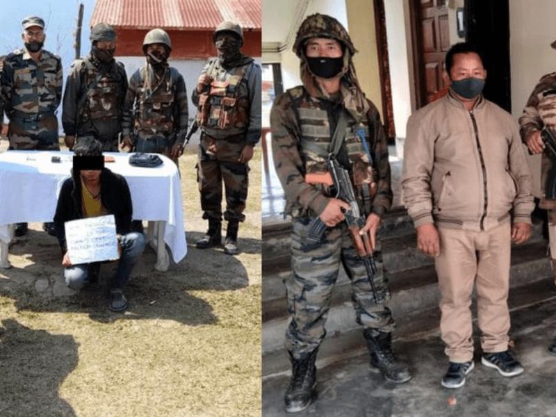 Manipur: Security forces arrest NSCN (R), PREPAK (Pro) cadres