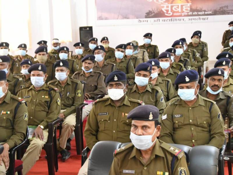 This is the first time that transgender persons have been inducted into the state police force