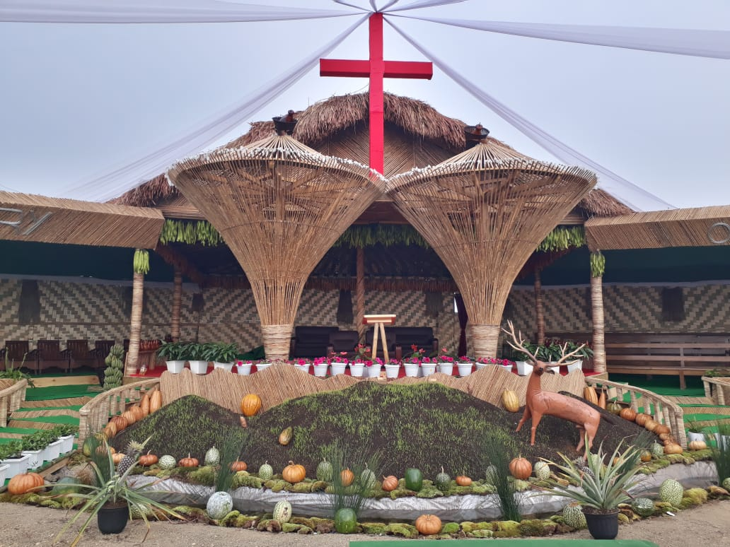 mManipur bamboo structure