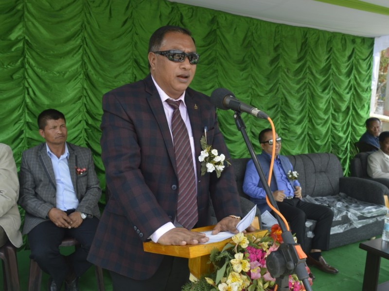 Meghalaya health minister AL Hek