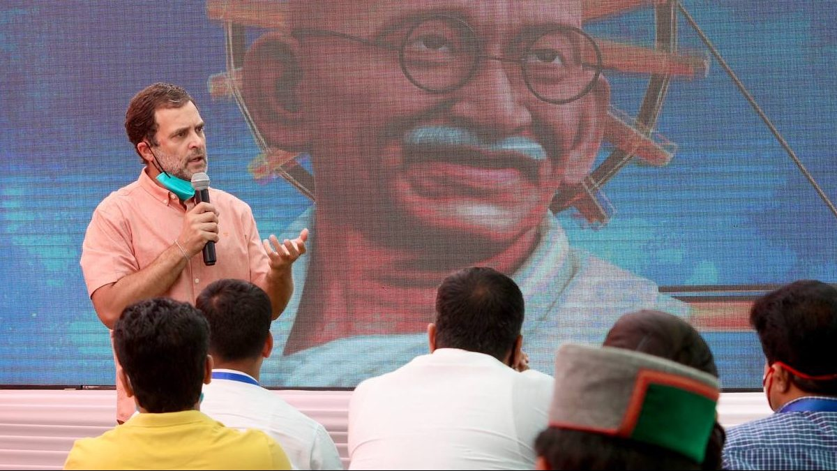 Rahul Gandhi supports bank strike