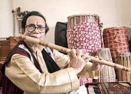 Assamese flute player Prabhat Sarma