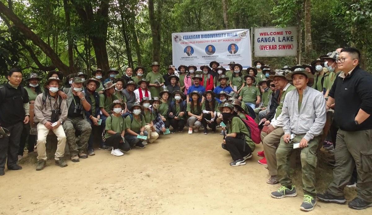 Biodiversity walk itanagar