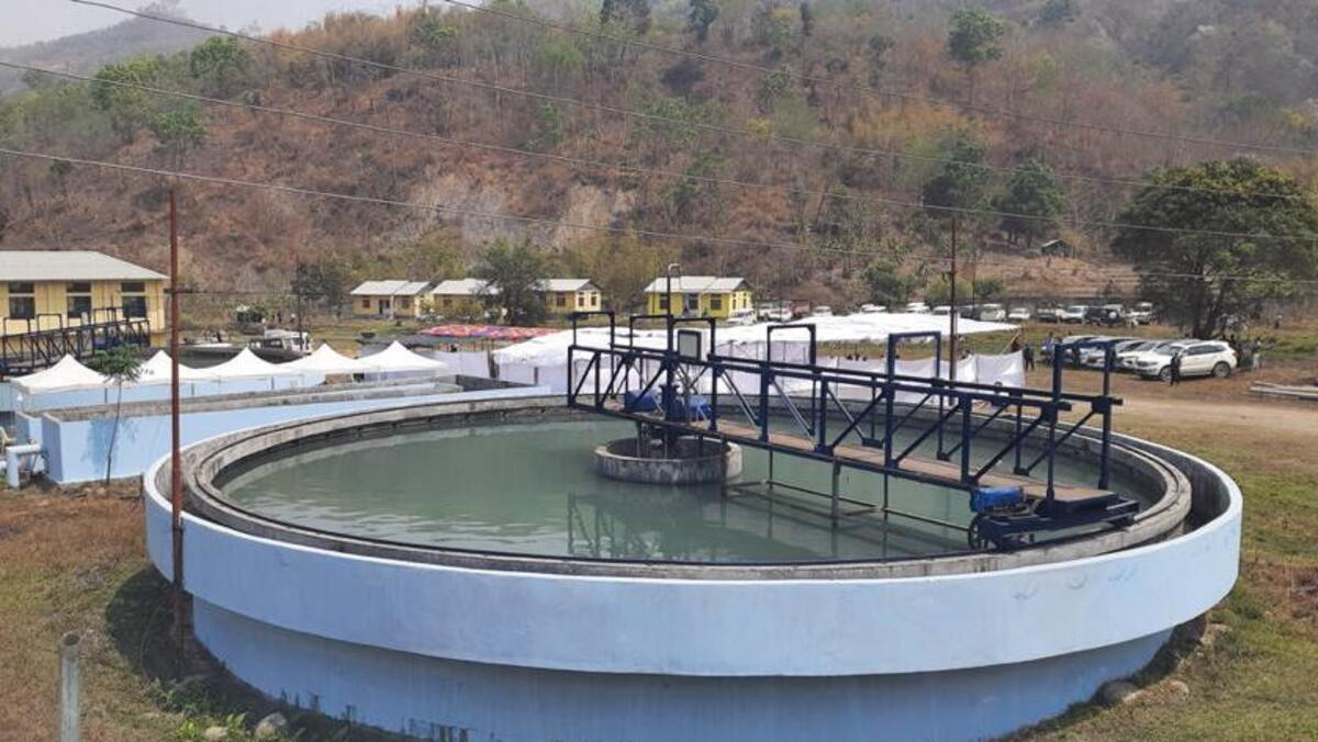 Nagaland water supply project
