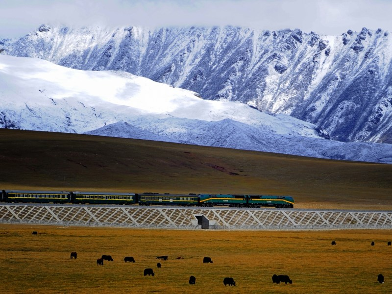 China to connect Tibet with high-speed bullet trains before July: Official