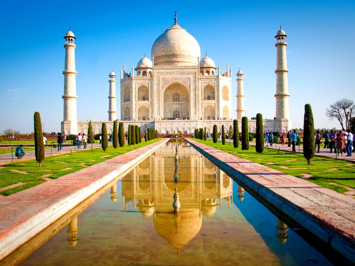 Taj Mahal, an ASI-protected monument