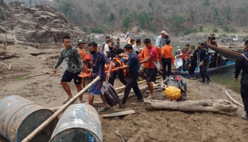 Thailand denies forcing fleeing villagers back to Myanmar