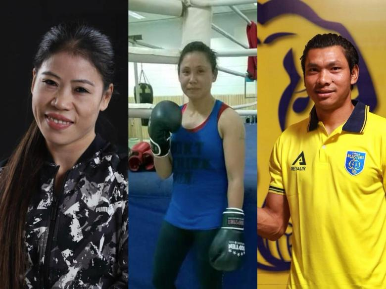 Birthday Mary Kom Sarita Devi Sandeep Singh