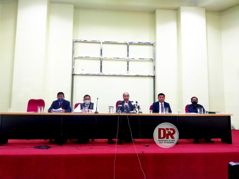 Mizoram chief minister Zoramthanga presented the annual budget on Monday.