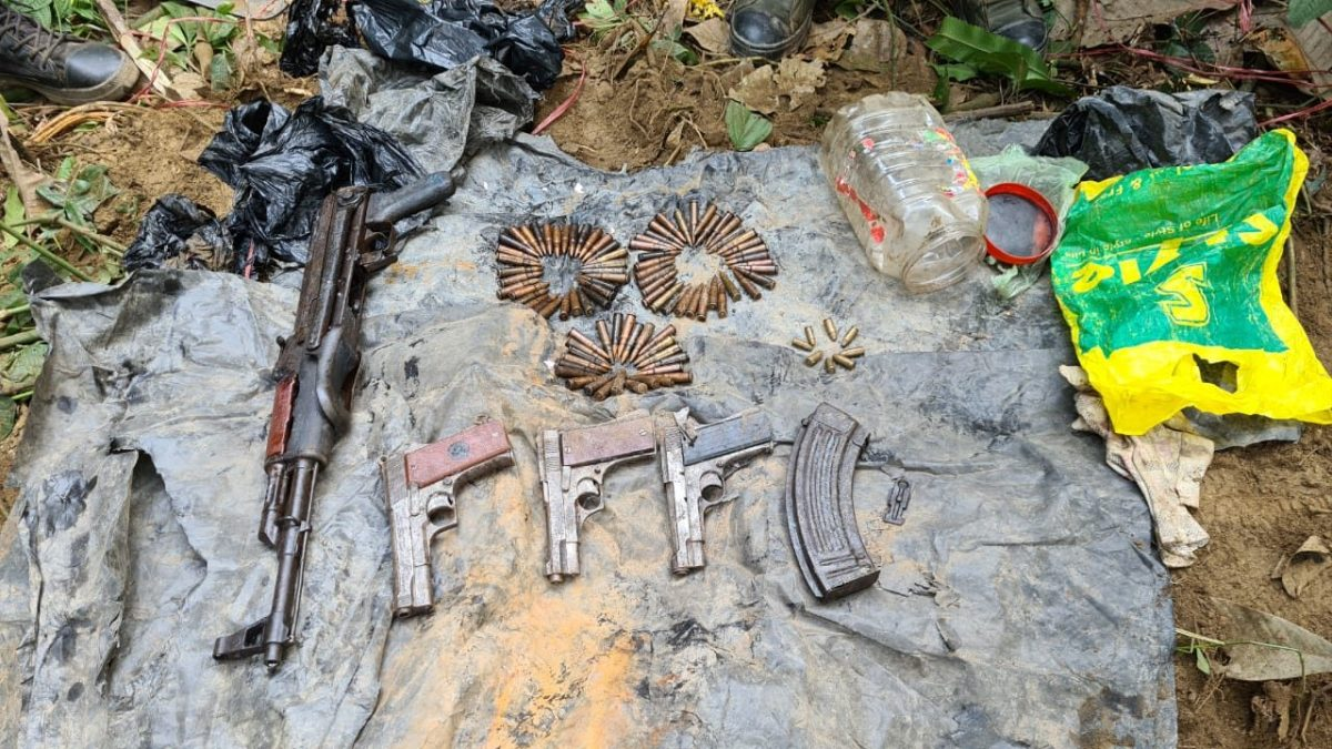 Arms and ammunition recovered ahead of Assam polls