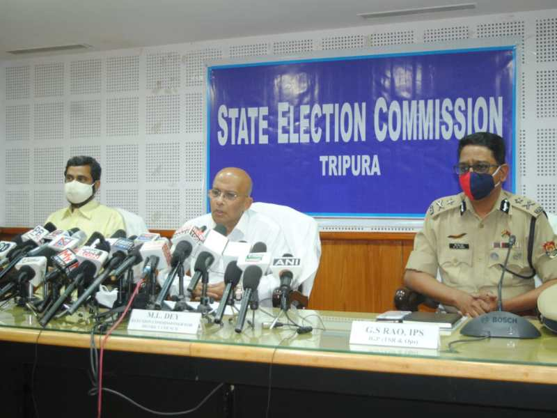 Opposition alleges violation of Model of Conduct by BJP