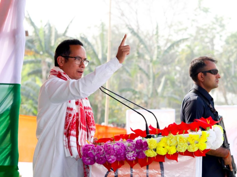 Gogoi said he doesn't want to be chief minister