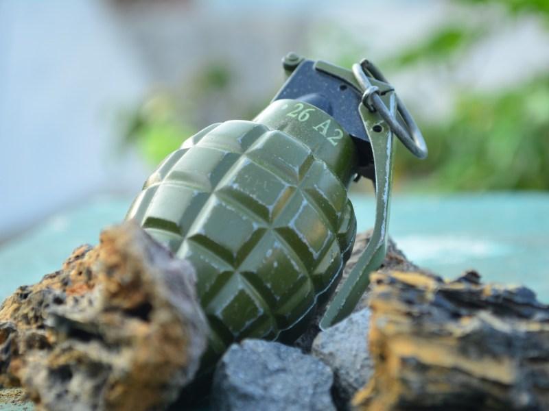 An abandoned grenade blasted at the Kotha Sema village at 9:30 am