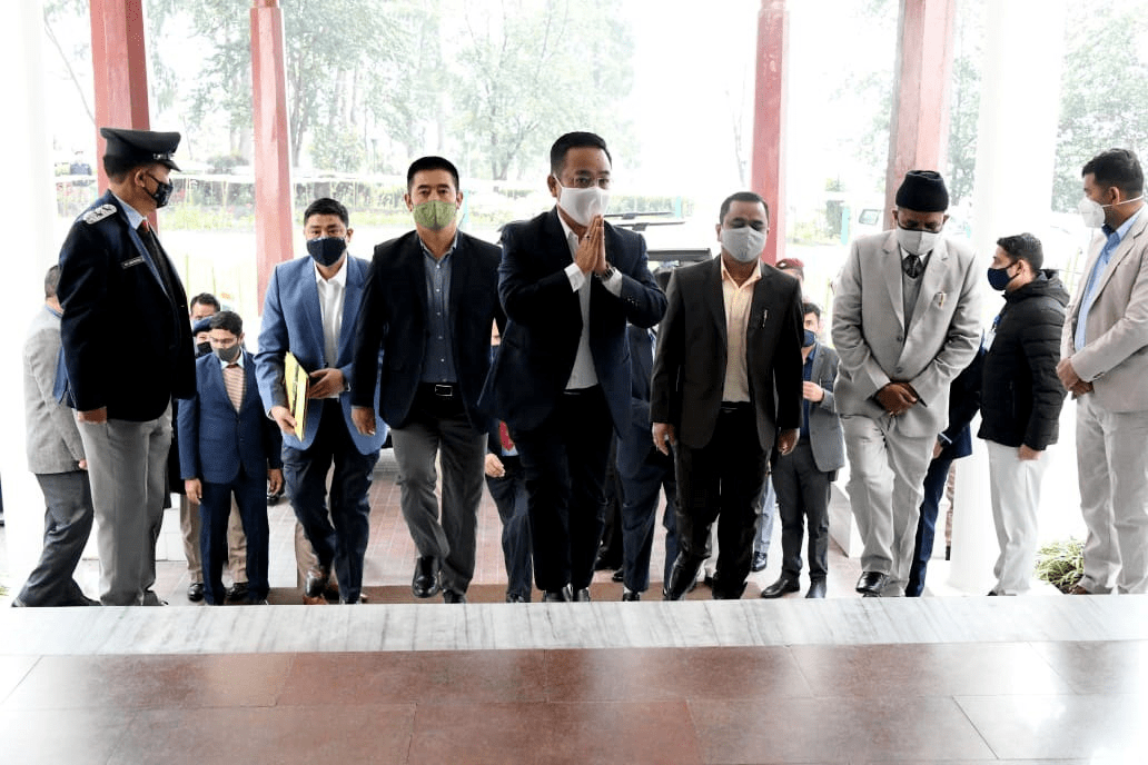Chief Minister Prem Singh Tamang, who holds the finance portfolio, presented the vote-on-account in the Sikkim Assembly