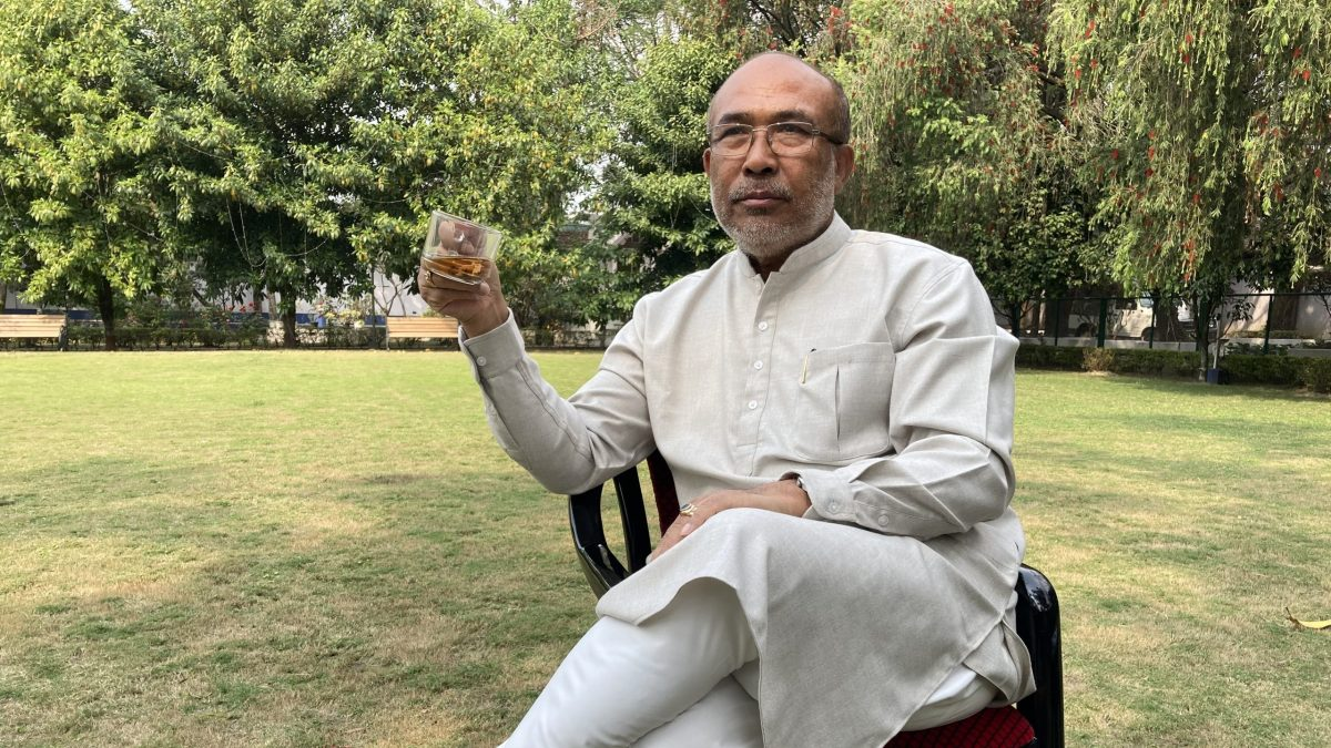 Manipur Chief Minister N Biren Singh discusses the COVID-19 pandemic, the success of ILP, Naga peace talks, press freedom, Myanmar refugees, war on drugs and much more