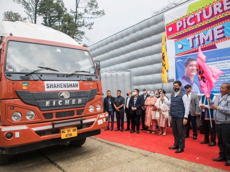 Pema khandu 5 mobile theatres