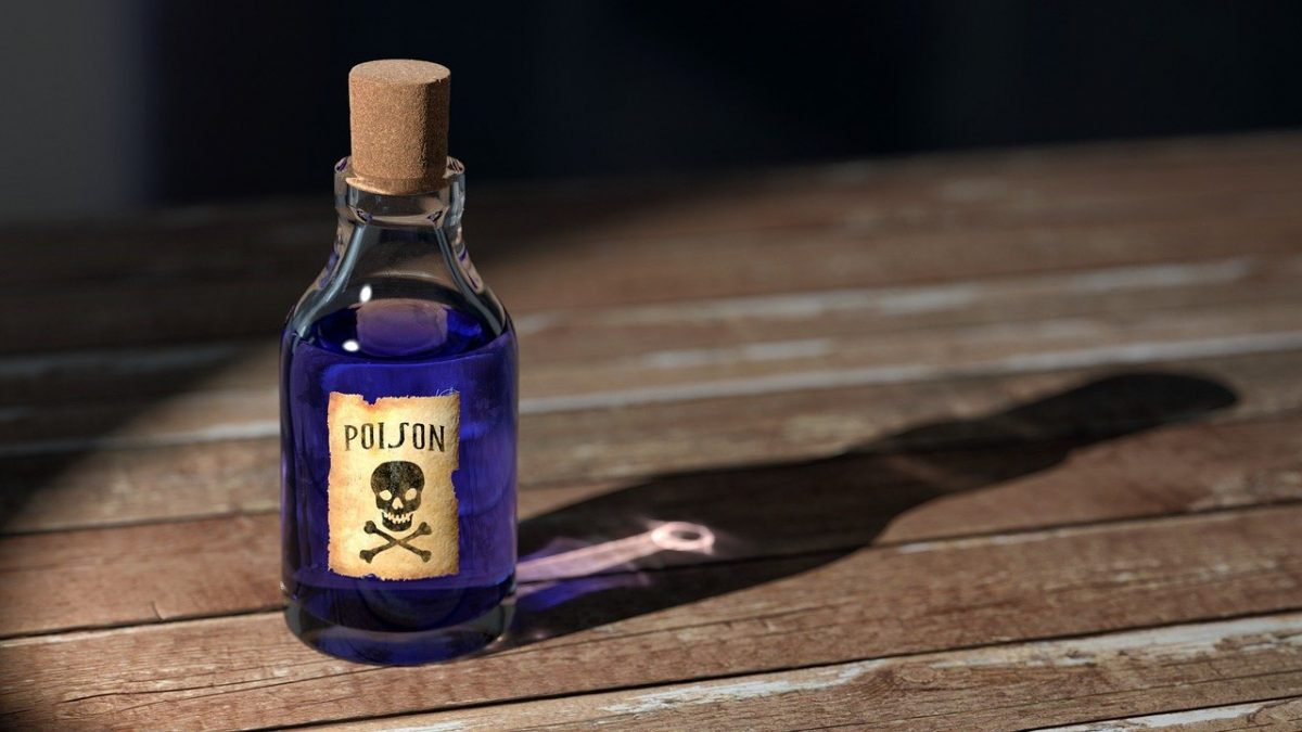 Delhi man thallium poison