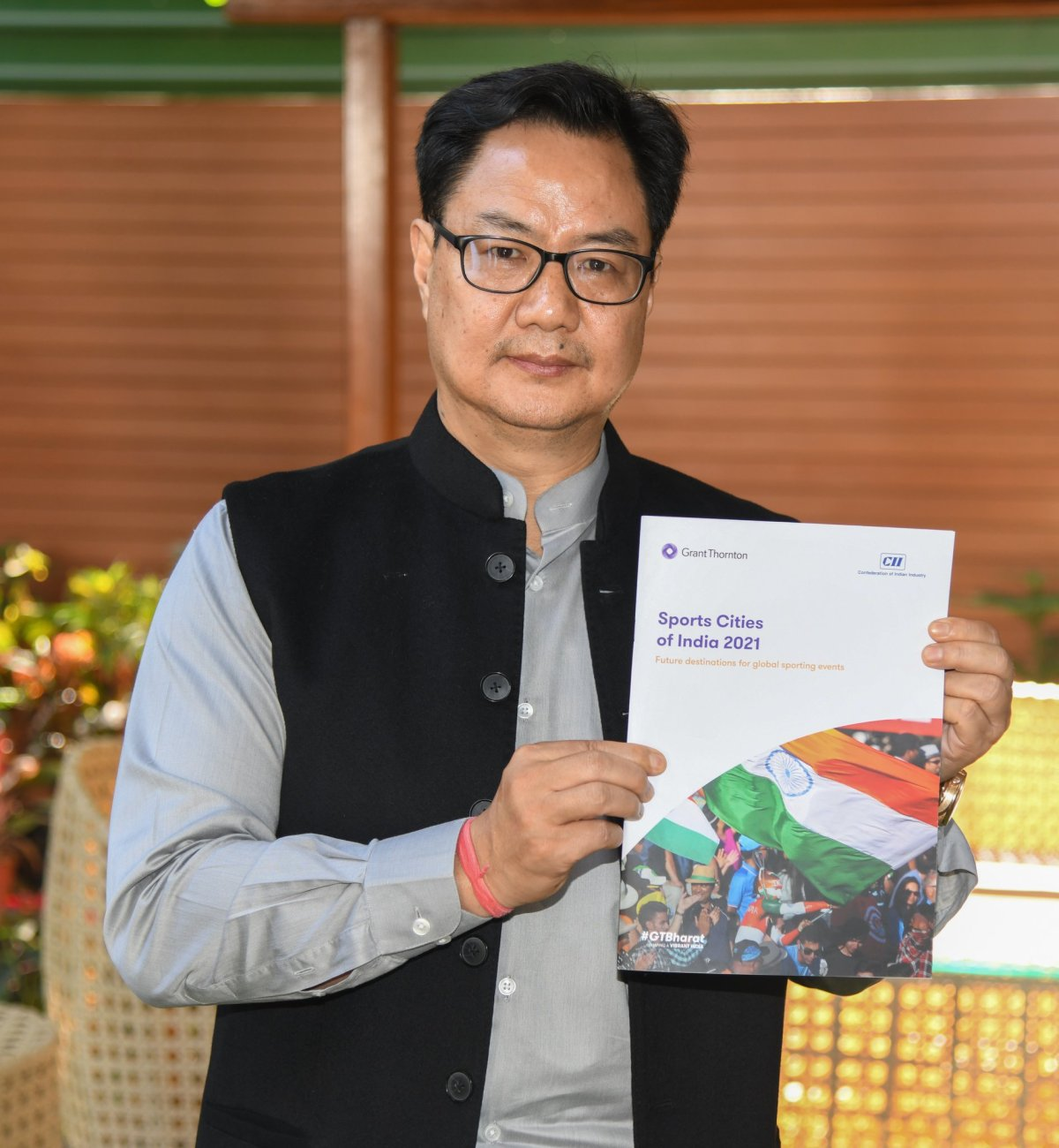 Sports Minister Kiren Rijiju wants Olympic games to be hosted in India