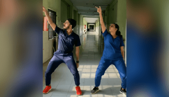Watch this Kerala duo's uplifting dance moves amidst rising cases of COVID-19