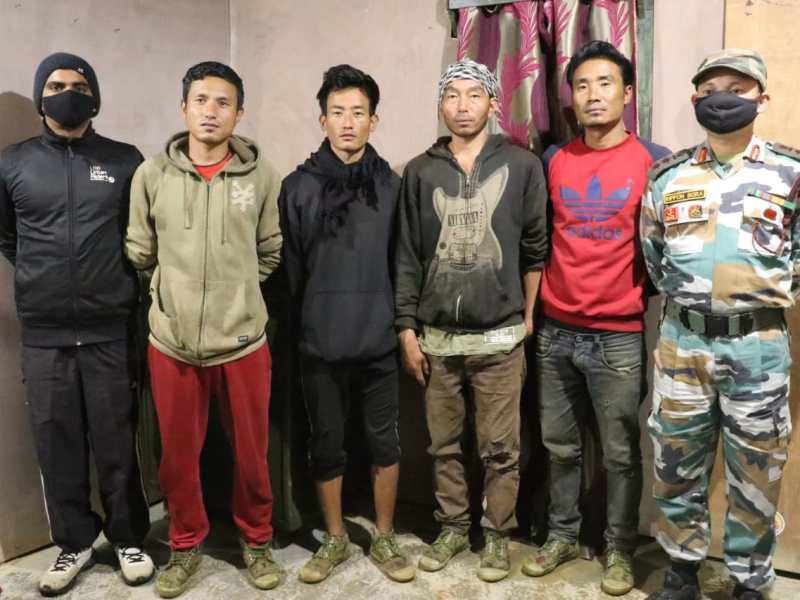 Manipur: NSCN-K abducted 4 persons rescued at Indo-Myanmar border