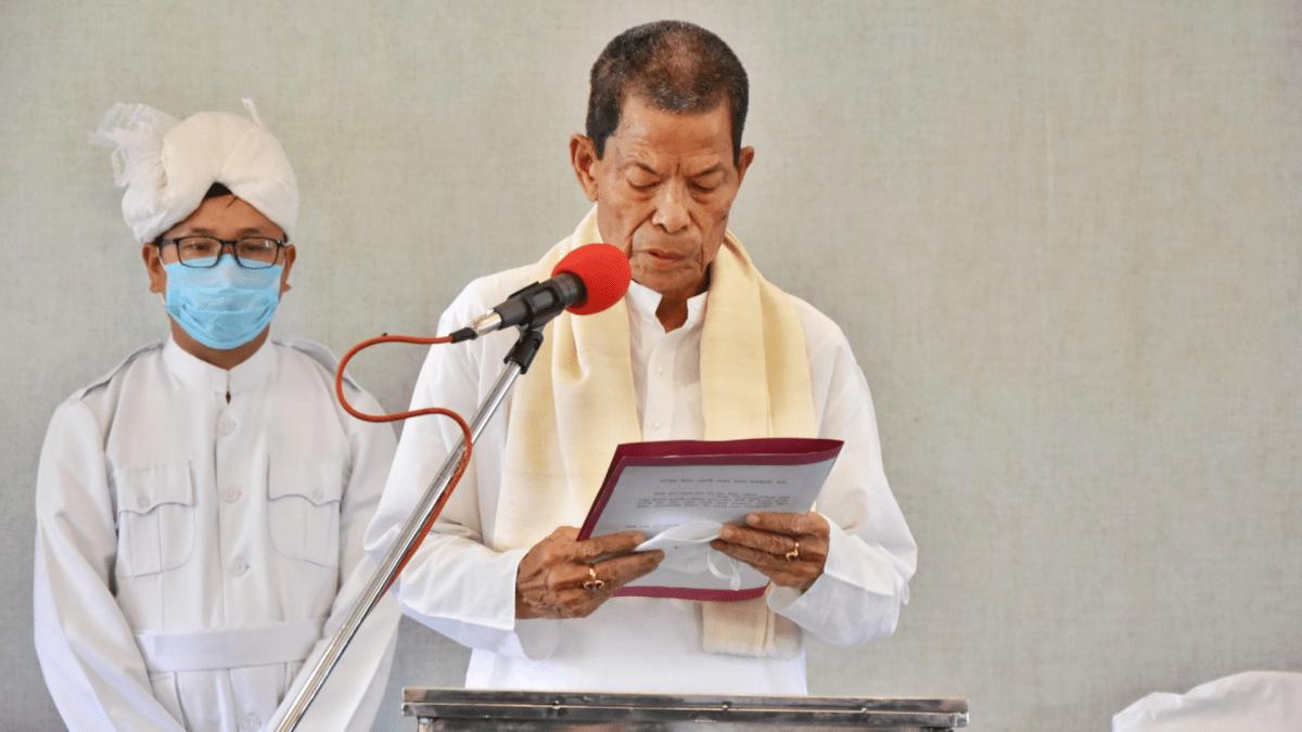 Manipur: BJP's Y Erabot Singh sworn-in as MLA of Wangkhei AC