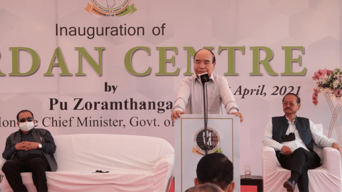 Mizoram: CM Zoramthanga at newly-opened 'Jordan' rehabilitation centre