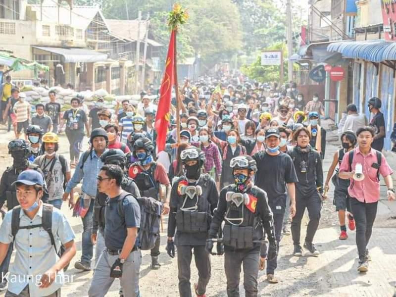 Myanmar military deaths