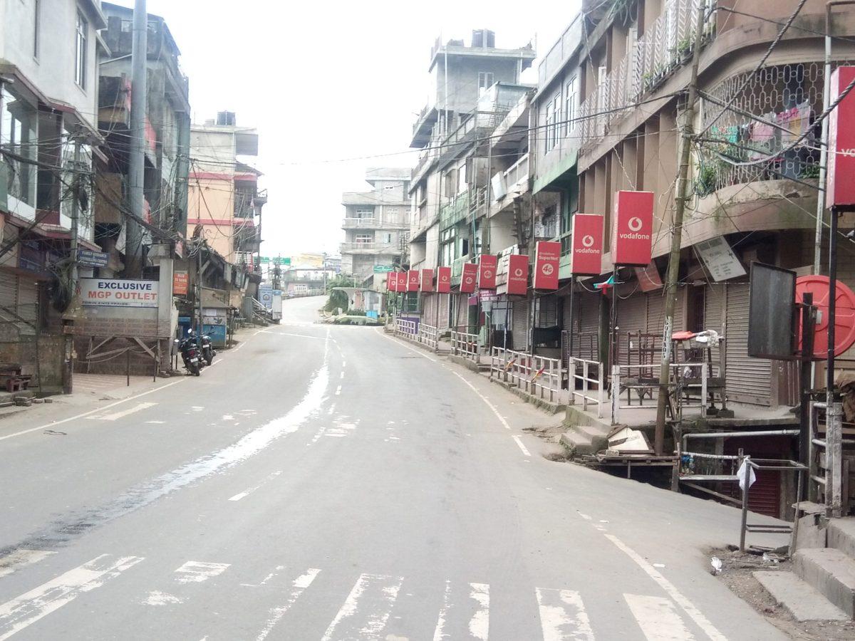 Nagaland lockdown