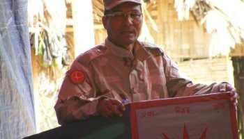 ULFA leader Jibon Moran