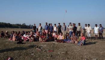 Indigenous land grabbed for Solar Power Plant in Assam