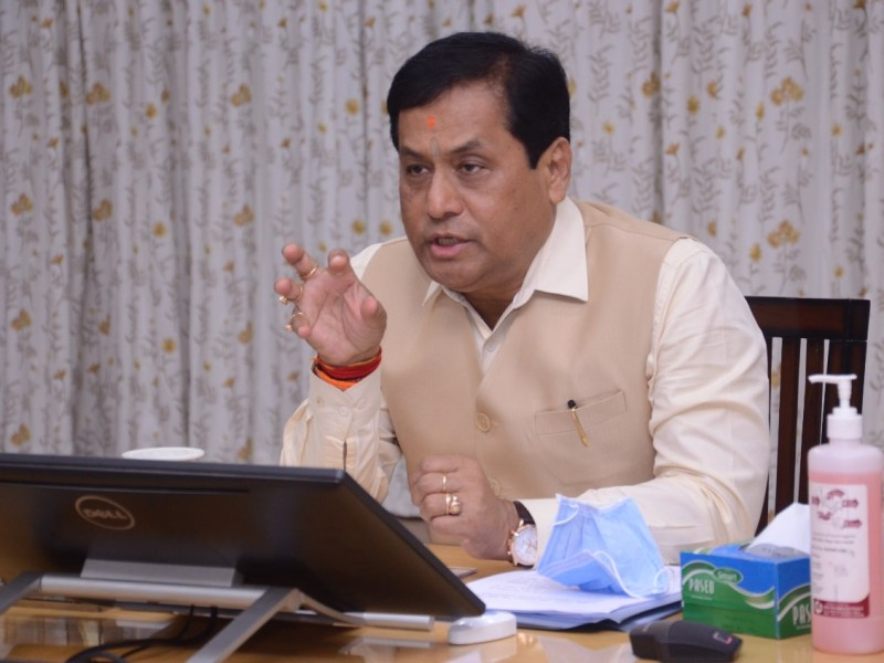 Sonowal checks COVID situation in Tinsukia