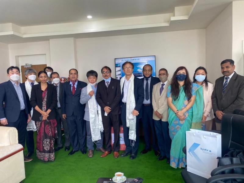 Korean mission in Sikkim