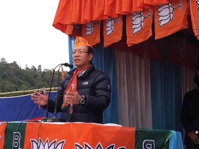 arunachal education minister taba tedir
